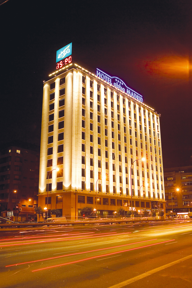 Hotel abba madrid madrid spain for Hotels madrid