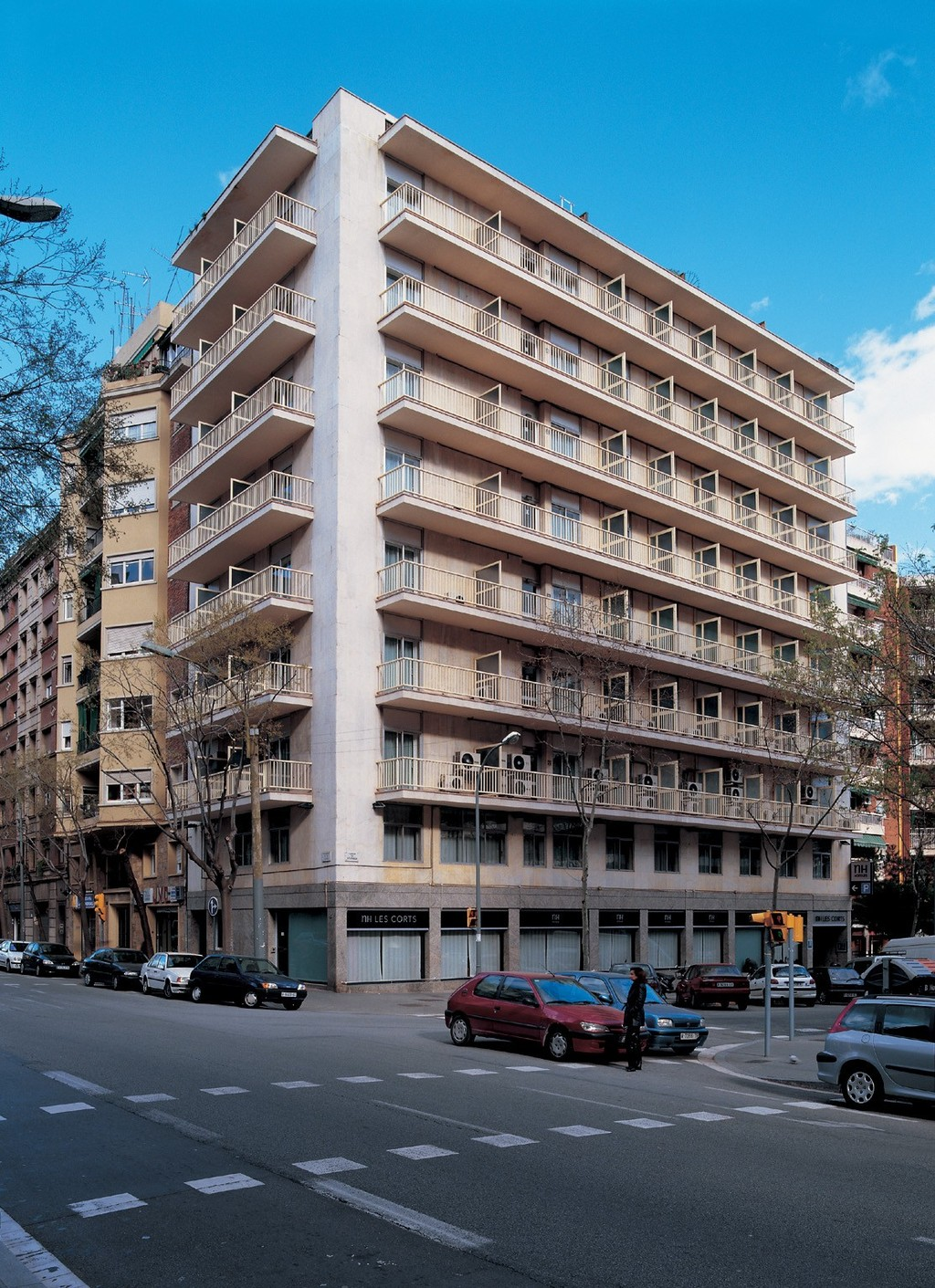 Hotel nh les corts barcelona spain for Hotels barcelone