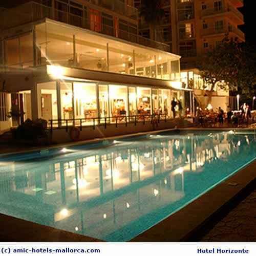 Hotel horizonte palma de majorque espagne for Hotel design palma de majorque