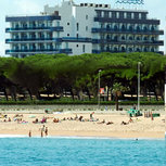 Бланес, Испания.  Другие бонусы.  Отель на карте Фото.  1 $ = 1 миля.
