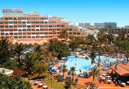 hotel playalinda roquetas: