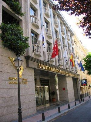 aparthotel jard n de recoletos madrid spain