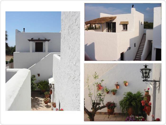 Rustic house casas atrapasue os barbate de franco - Casas tipicas andaluzas ...