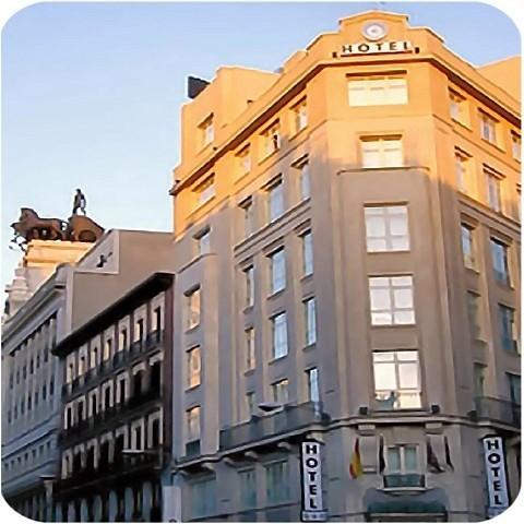 Hotel quatro puerta del sol madrid spain for Puerta del sol madrid spain