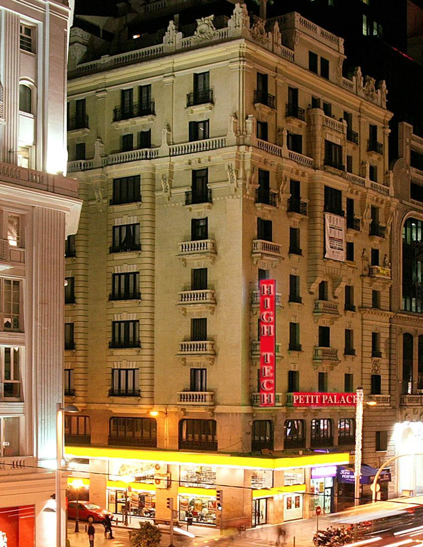 Hotel Petit Palace Italia Madrid Spain