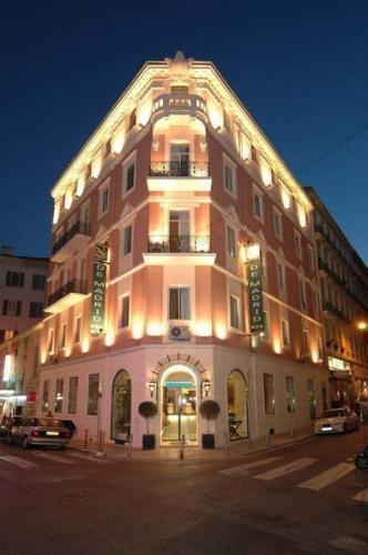 Hotel best western hotel de madrid nice nice france for Top hotel france