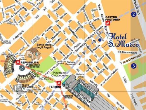 Hotel S Marco Roma Termini