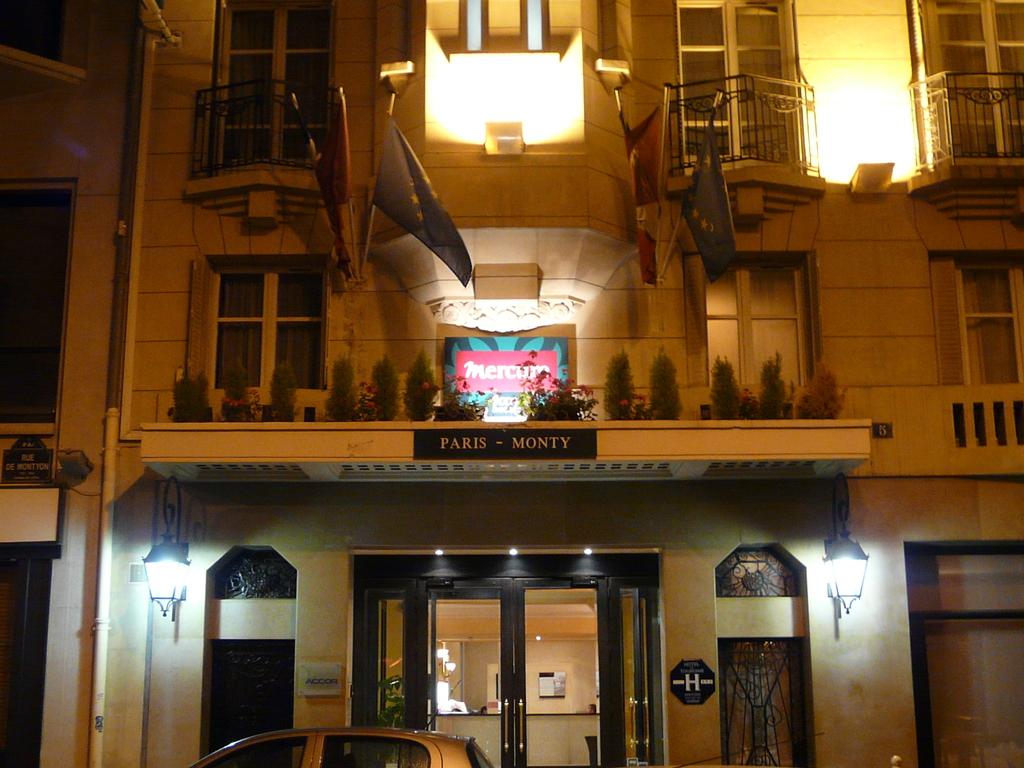 Hotel Mercure Paris Monty Opera  Paris 9e Arrondissement