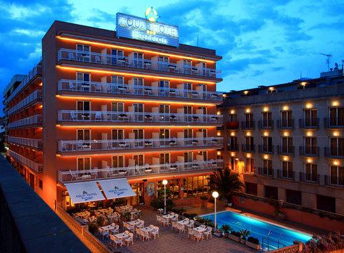 Hotel Aqua Hotel Bertran Lloret De Mar Spain Hotelsearch Com