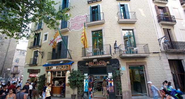 Hostel jardi barcelona spain for Hotel jardin barcelona
