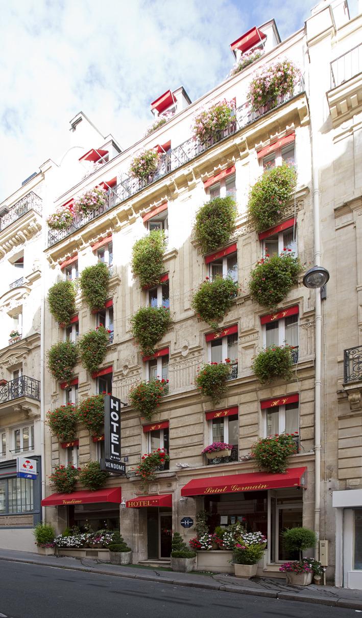 Hotel vendome saint germain paris 5e arrondissement for Paris hotel 8th arrondissement