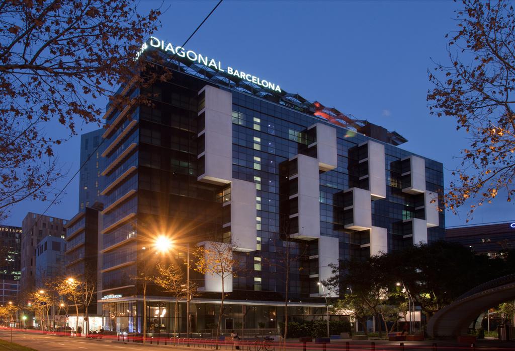 Hotel silken diagonal barcelona barcelona spain for Hotel barcelone